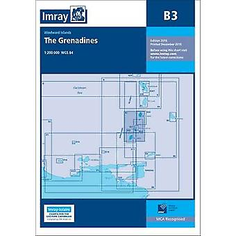 Imray Chart B3 - The Grenadines- St Vincent to Grenada by Imray - 9781