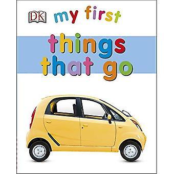 Min första saker som går (min första Board Book)