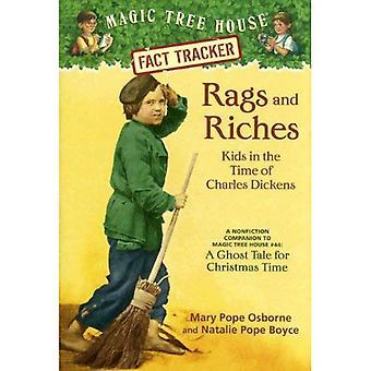 Lumpen und Reichtum: Kinder in der Zeit von Charles Dickens: ein Sachbuch Begleiter eine Ghost-Geschichte für die Weihnachtszeit (magische Baumhaus Research Guides
