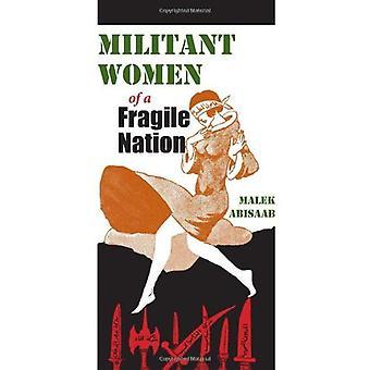 Wojujący kobiet delikatne narodu