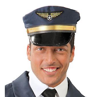 Pilota di Mens cappello costume accessorio