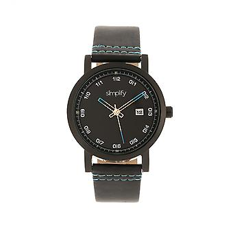 Simplify The 5300 Strap Watch - Black