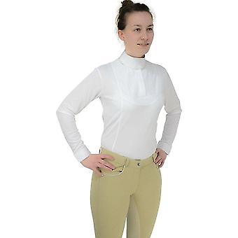 HyFASHION Womens/dames Sandringham voorraad T-shirt lange mouwen