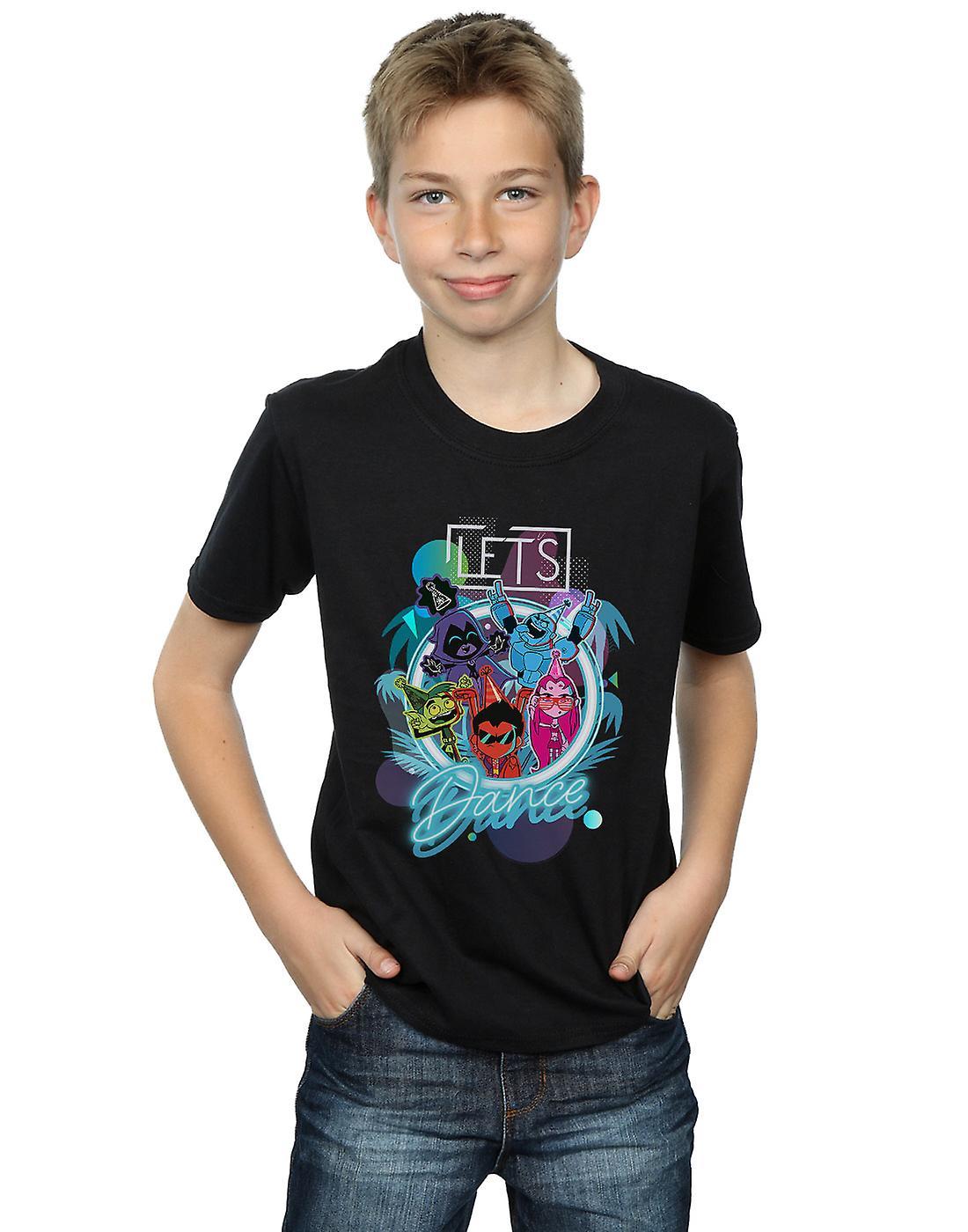 DC Comics Boys Teen Titans Go Let's Dance T-Shirt