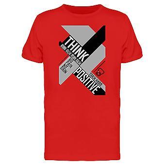 Think Run Run Run Positive Tee Men's -Image by Shutterstock