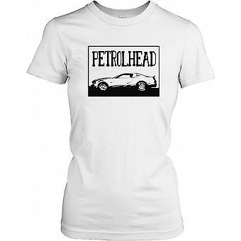 Petrolhead bil med Hoosier dæk damer T Shirt