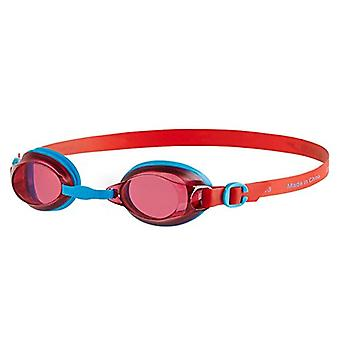 Speedo Jet Junior Kids UV Anti Fog Schwimmbrille (6-14 Jahre)-Red/Blau