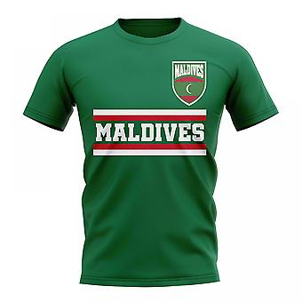 Maldive Core Football Country T-Shirt (verde)