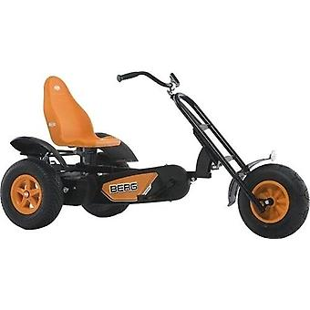 BERG Chopper BFR Large Pedal Go Kart 3 Wheels Black/Orange Ages 5 Years+