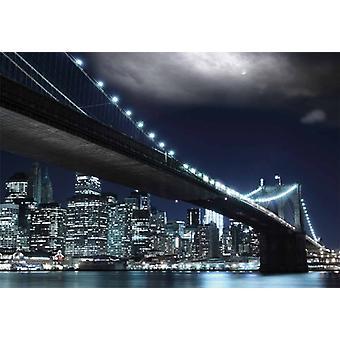 Wallpaper Mural New York Brooklyn Bridge