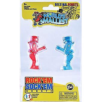 Verdens mindste Rock ' em sock ' em robotter