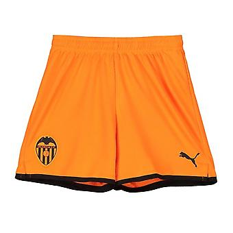2019-2020 Valencia Away Puma shorts (orange)-børn