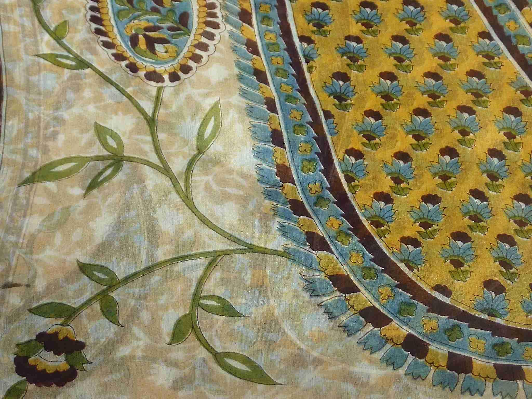 Mulberry Silk Traditional Long Scarf Sonja Cream by Pashmina & Silk
