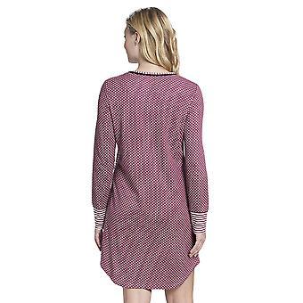 Rosch 1193514-16415 femei ' s smart casual fard de obraz roz cu dungi Mix de bumbac nightdress