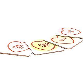 Swizzels Love Hearts Coasters