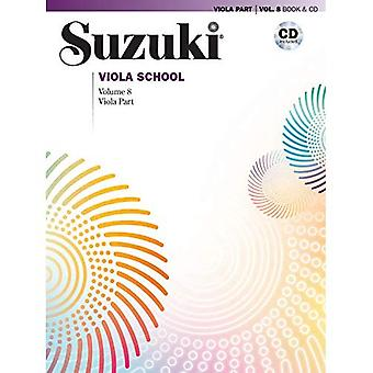 Suzuki Viola school, vol 8: Viola deel, boek & CD (Suzuki Viola school)