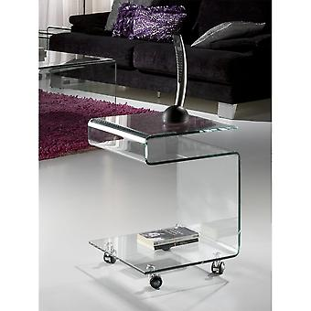 Schuller Glass Clear Side Table