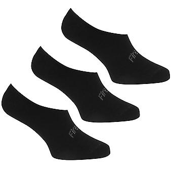 Firetrap Hombres Invisible 3 Pack Calcetines