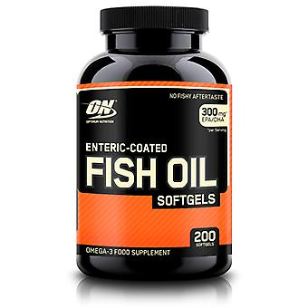 Integratore alimentare Optimum Nutrition Enteric-Coated Fish Oil Softgels Omega-3