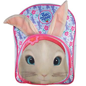 Childs Peter Rabbit Lily bleke blauwe en roze rugzak