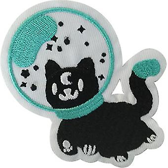 Aufnäher - Space - Spaced Out Kitty Icon-On p-dsx-4786