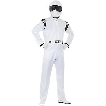 Top Gear Stig jelmez Racing Racer Strack suit