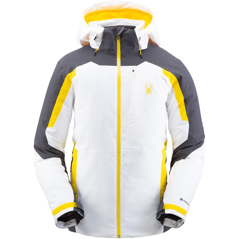 zu Füßen bei zuverlässigste günstig kaufen Spyder COPPER Men's Gore-Tex Primaloft Ski Jacket White