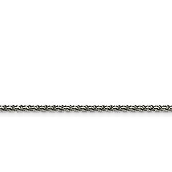 Stainless Steel 2.50mm Polished Fancy Link Chain Necklace Jewelry Gifts for Women - Length: 16 to 24
