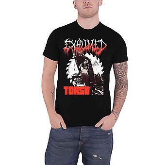 Exhumed T Shirt Torso Band Logo new Official Mens Black