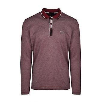 BOSS Athleisure Boss Plisy 2 Polo Shirt Dark Pink