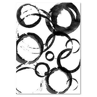 Panel Deco, Círculos abstractos