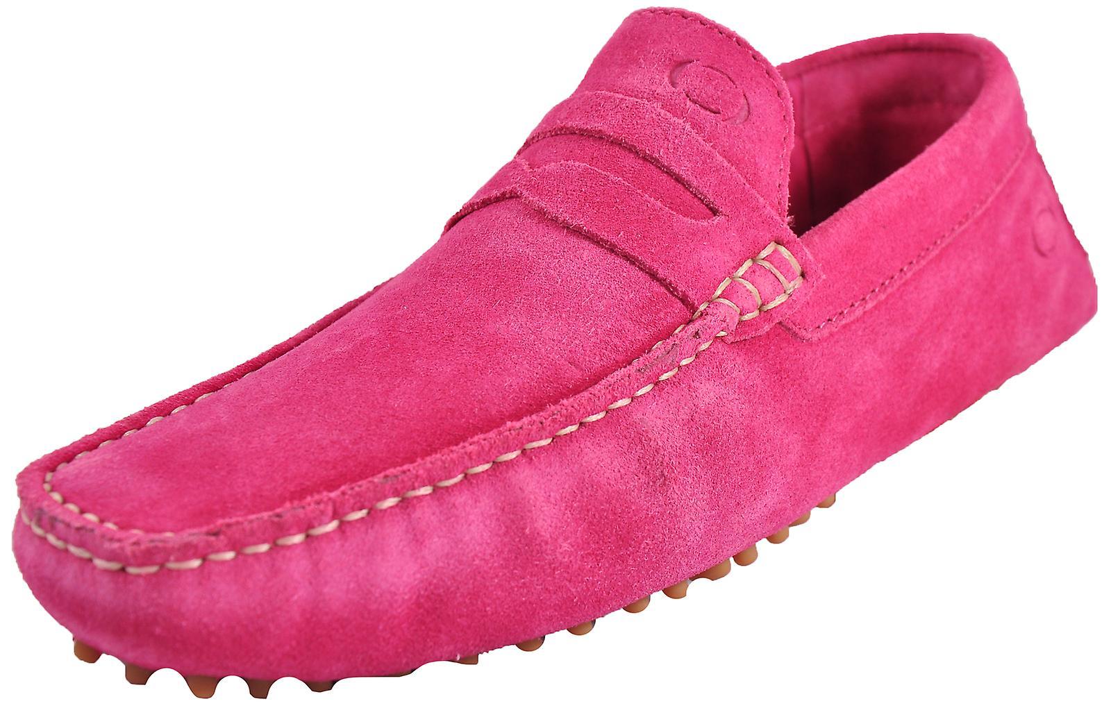 Base London Morgan Suede Pink