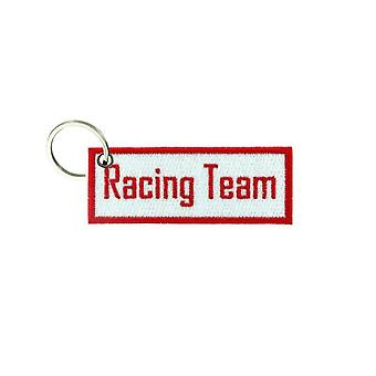 Porte Cle Cles Clef Brode Patch Ecusson Biker Morale Racing Team Race Car