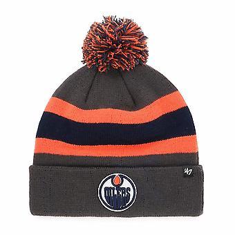 47 Marke Nhl Edmonton Oilers Kohle Brechen Manschette Mütze stricken