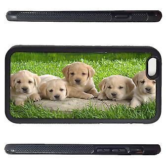 Iphone 6 peel with gras puppies picture print