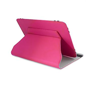 LEO 9.7'quot;/10.1'quot; Universal Pink Outer/Grey Inter Tablet Cover