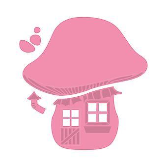 Marianne Design Collectables champignon dø, Pink