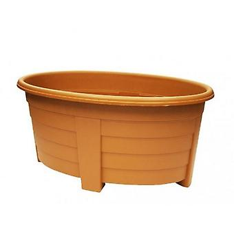 Grosvenor soikea muovinen planter