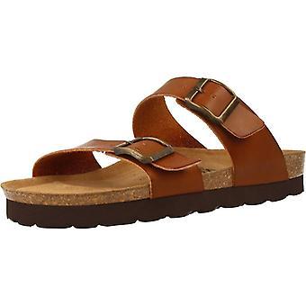 Gele winkel sandalen Atika kleur eiken