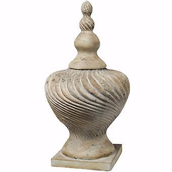 Classic Ceramic Vase with Lid