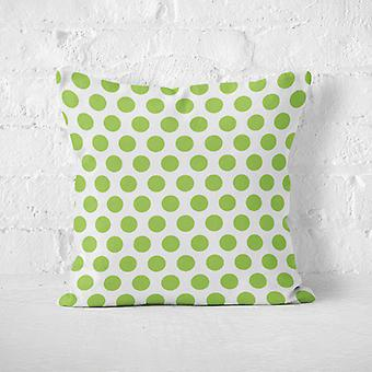 Meesoz Cushion Cover - Dots Green