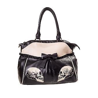 Banned Parallel Universe Skulls Handbag