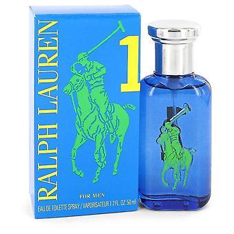 Big Pony Blue Eau De Toilette Spray By Ralph Lauren   547267 50 ml
