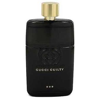 Gucci Guilty Oud By Gucci Eau De Parfum Spray (unisex Tester) 3 Oz (men) V728-548293