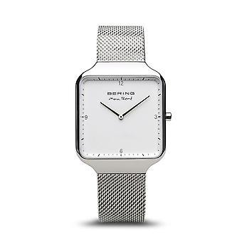 Uhr Bering 15836-004 - Helles Stahlzifferblatt grau milanese StahlArmband