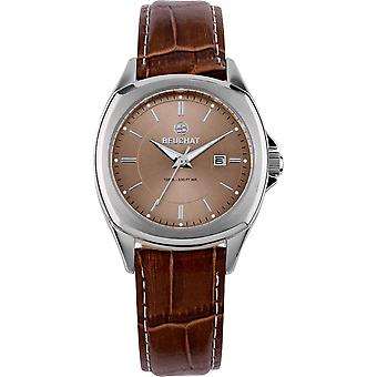 Beuchat BEU0036-2 - Watch Leather Brown trend woman