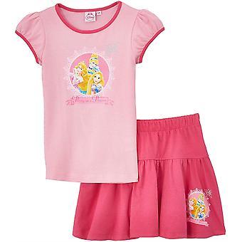 Jeunes filles Disney Princesse Summer T-shirt & Skirt Set