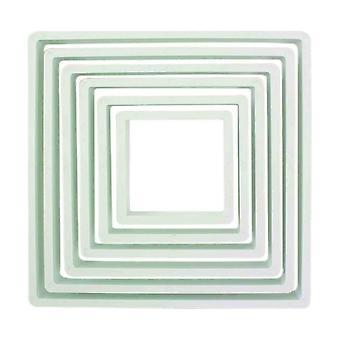 PME Square Cutter Set 6 Pièce