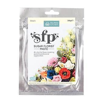 Squires keittiö SFP sokeri kukka kauppias pasta kerma 200g