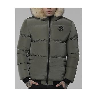 Sik Silk Distance Khaki Jacket